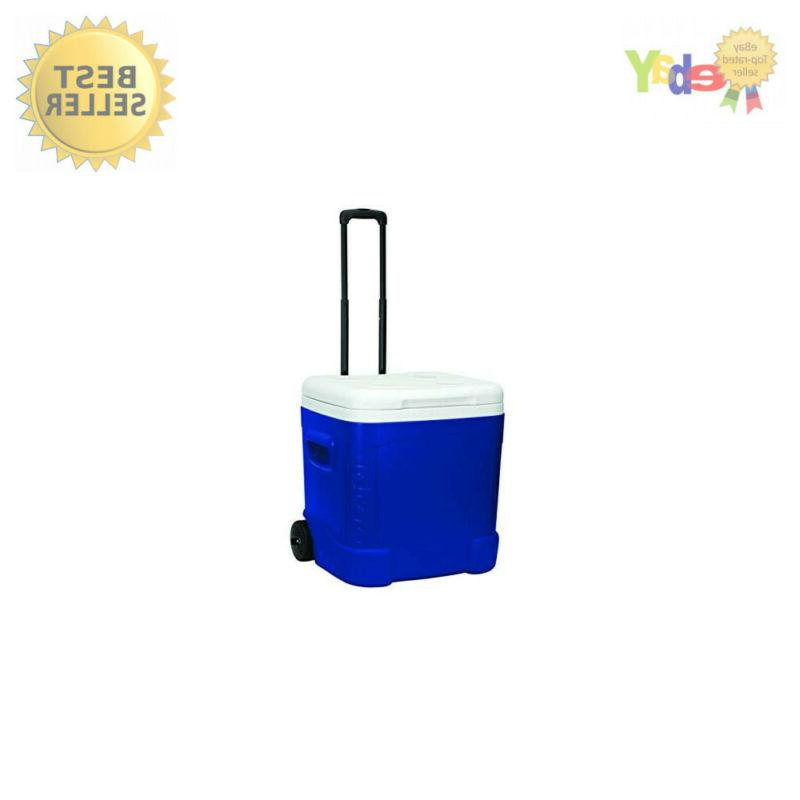 Igloo Ice Cube Plastic Cooler 60 qt. Blue-Mfg# 45097