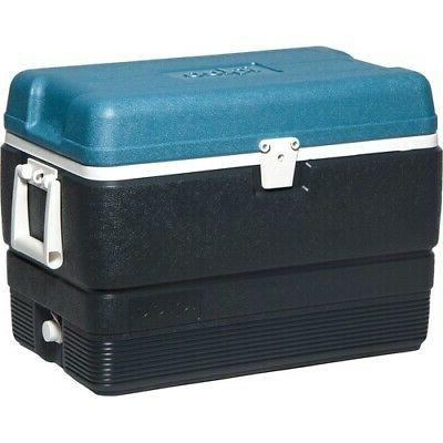 maxcold stainless steel cooler blue