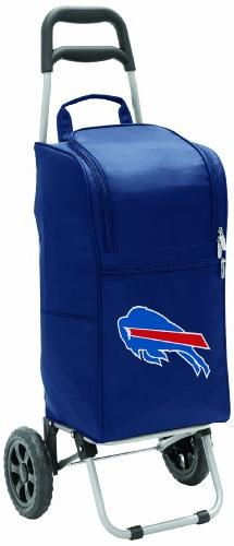 NFL Buffalo Bills Insulated Cart Cooler with Wheeled Trolley