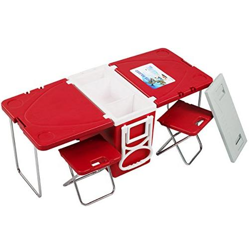 Ultra Compact Function Insulated with Table & Chairs Family Picnic