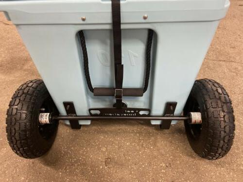 Rtic Cooler 110 Tire Axle Kit--COOLER INCLUDED