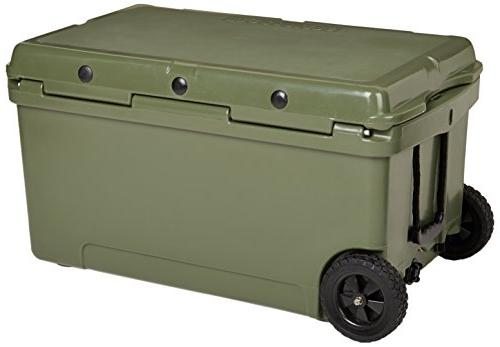K2 60 Cooler with Wheels, Duck Boat