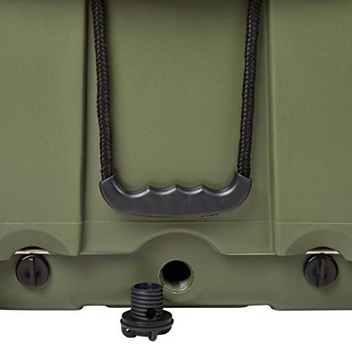 K2 Cooler with Wheels, Boat Green