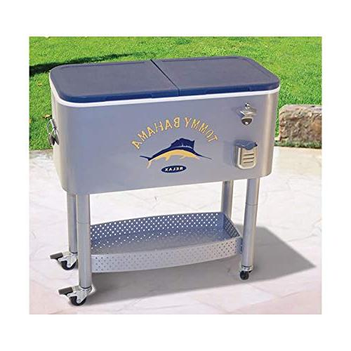 RIO Gear Tommy Bahama The Steel Rolling Portable Patio