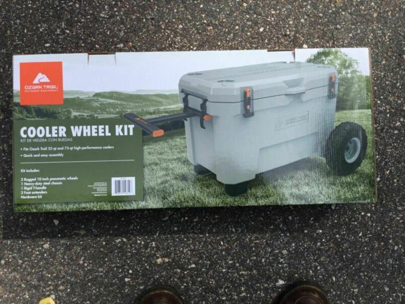 Wheel and 73 Coolers Ozark Performance Cooler