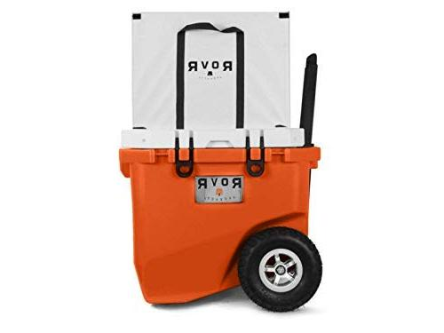 RovR Wheeled Camping Rolling Cooler with qt