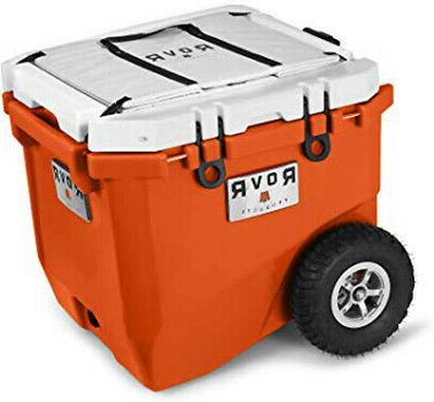 wheeled camping rolling cooler