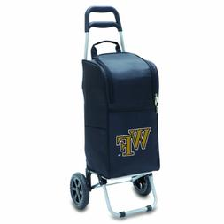 NCAA Wake Forest Demon Deacons Insulated Cart Cooler with Wh