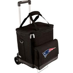 Picnic Time New England Patriots Cellar w/Trolley - New Outd
