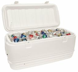 New Igloo Polar Cooler 120-Quart, White  Perfect for Camping