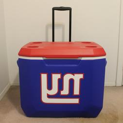 New York Giants ~ Coleman NFL 60 Quart Wheeled Cooler