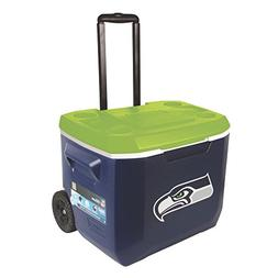 Coleman NFL 60 Quart Wheeled Cooler -  Los Angeles Chargers