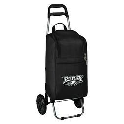 NFL Philadelphia Eagles Insulated Cart Cooler with Wheeled T
