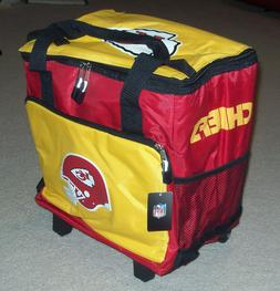 NWT Official KANSAS CITY CHIEFS NFL Tailgate Insulated Rolli