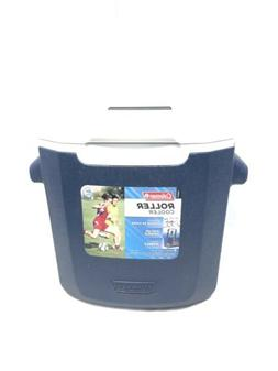 Coleman Roller Man Cooler. 16qt Holds 22 Cans. Condition Use