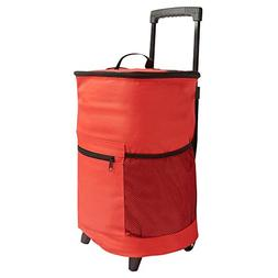 Rolling Cooler by Etna  - Red
