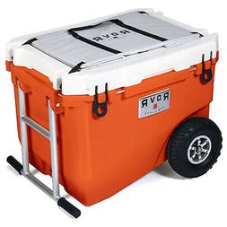 RovR RollR Portable Rolling Outside Insulated Cooler with Wh