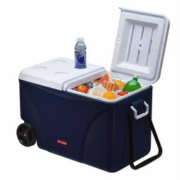 Cooler With Wheels Rubbermaid 75 qt 5-Day Wheeled Ice Chest