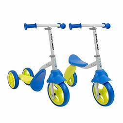 Swagtron K2 Toddler 3 Wheel Scooter & Ride-On Balance Trike