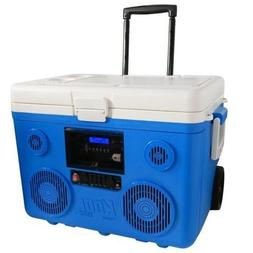 TAILGATE PARTY Bluetooth COOLER with Wheels 40 qt. Built-in