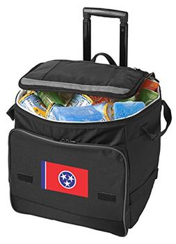 Broad Bay Tennessee Cooler Tennessee Flag Rolling Cooler Bag