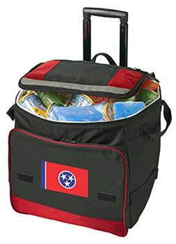 Broad Bay Tennessee Rolling Cooler Tennessee Flag Cooler Bag