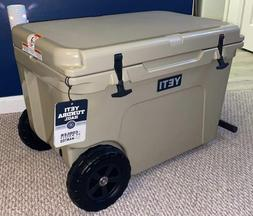 Yeti Tundra Haul Wheeled Cooler - Desert Tan - New - Never U