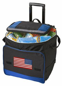 USA Rolling Coolers Insulated WHEELED Soft 4TH OF JULY Coole