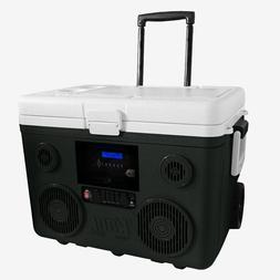 Wheeled Cooler 40 Qt. with Speaker Media Bluetooth PA System