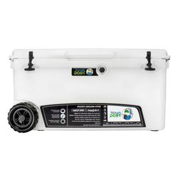 Frosted Frog White 110 Quart Ice Chest Heavy Duty Insulated