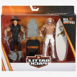 WWE Fan Central STING vs. UNDERTAKER Battle Pack Mattel Acti