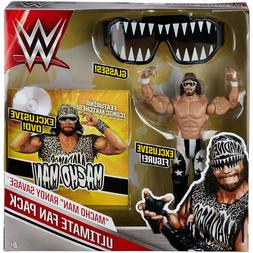 WWE Ultimate Fan Pack MACHO MAN RANDY SAVAGE Mattel Action F