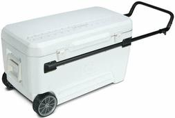 Xl Cooler Wheeled Heavy Duty Ice Chest Drinks 5 Day Cold 110