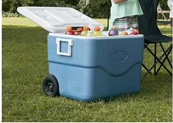 Coleman Xtreme 75-Quart Wheeled Plastic Chest Cooler Ice Che